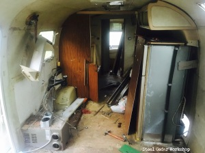 airstream n stripping the interior part 1 po s junk